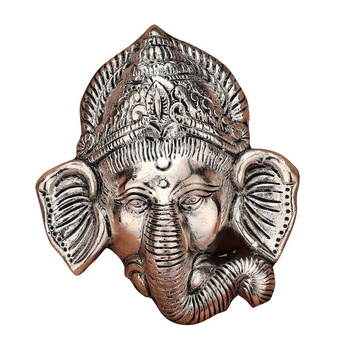 Face Ganesha Silver