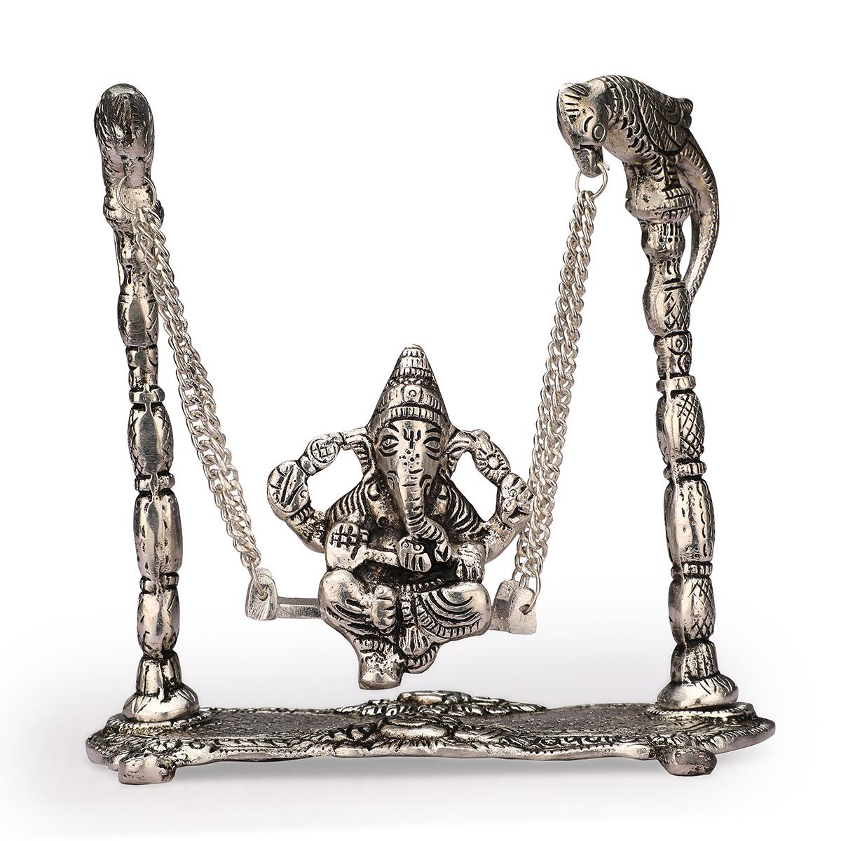 Ganesh Jhoola Silver
