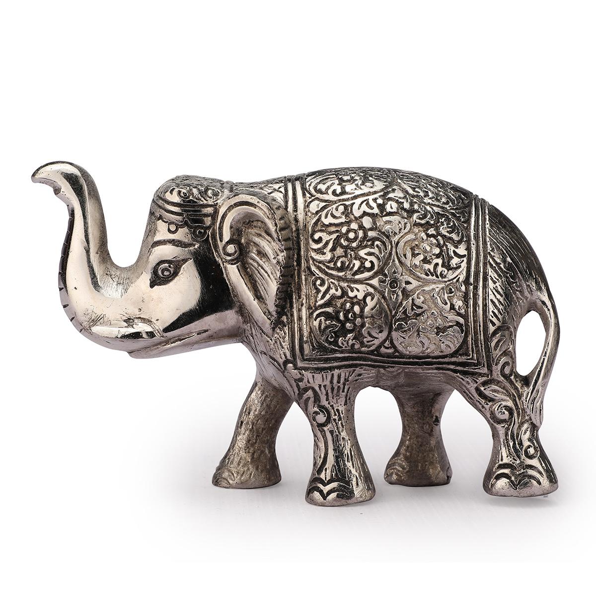 Elephant Holo No.1 Silver